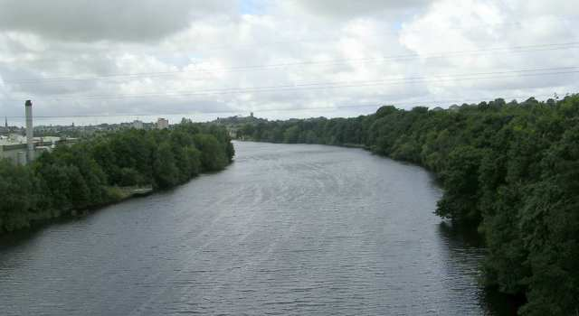 River Lune viewed from Aqueduct