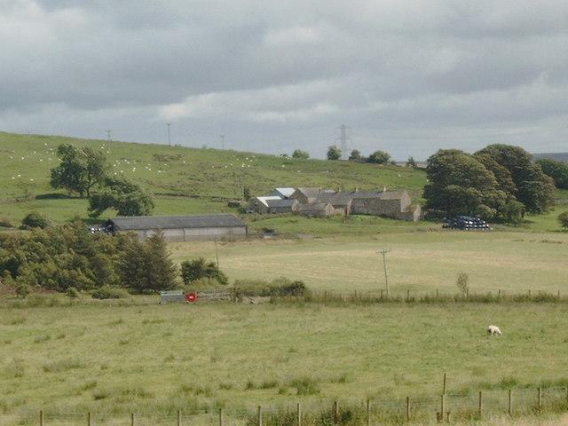 Fields near Fell End