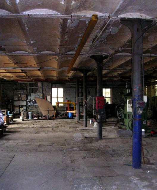 Ground Floor of Weaving Shed - Ramsbottom Mill