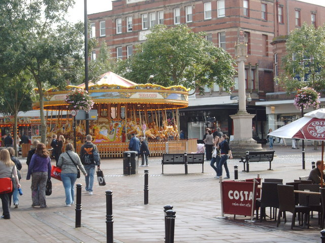 Carousel in Carlisle