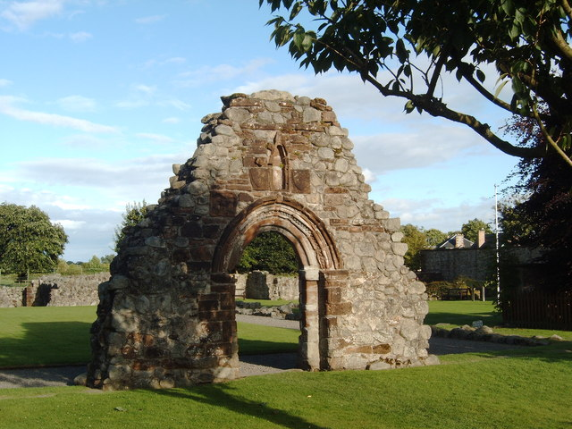 Ruins at Sweetheart Abbey