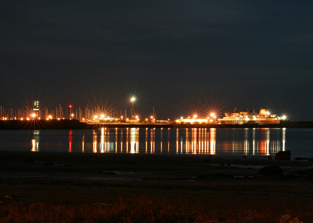 Ardrossan Harbour from North Bay