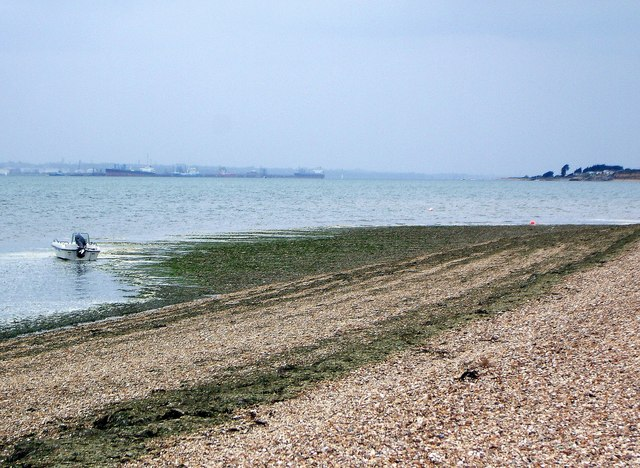 Looking West from Titchfield Haven