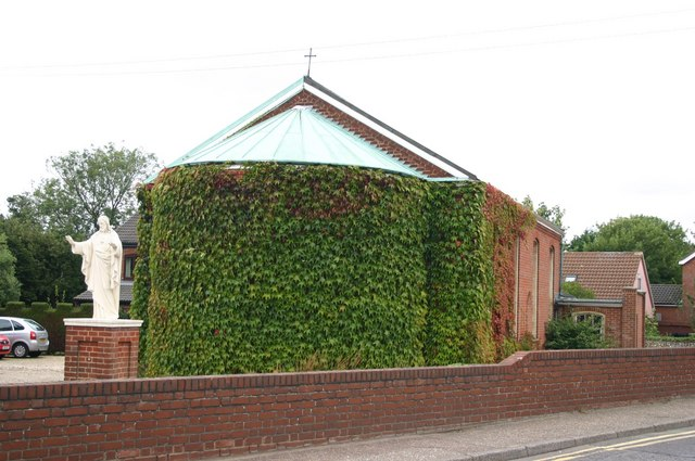 The R.C. Church of The Sacred Heart and St. Margaret Mary, East Dereham