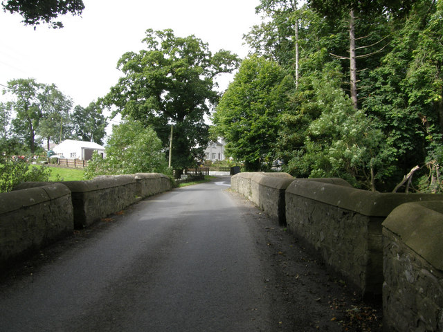 Bridge over the River Cusher at Clare