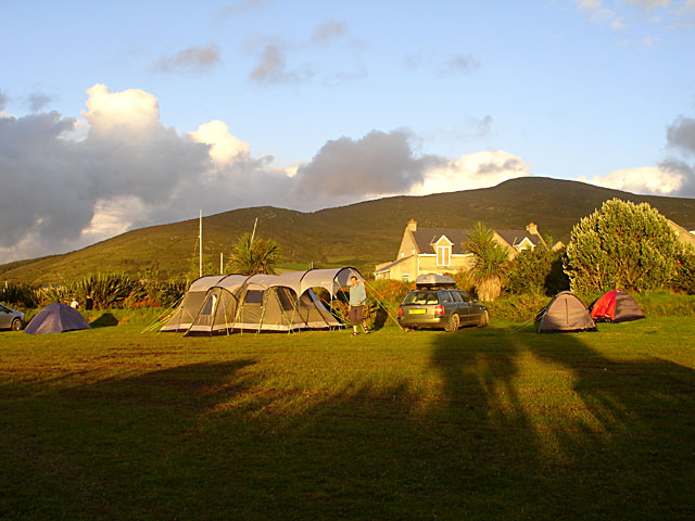 Campsite at Mannix Point