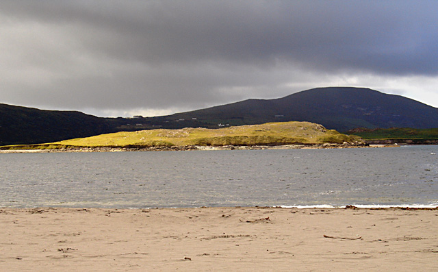 Beginish Island, viewed from White Strand Beach