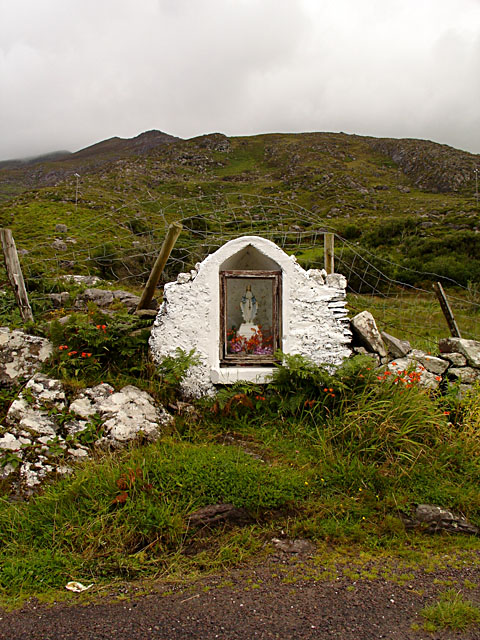 Shrine beside the road