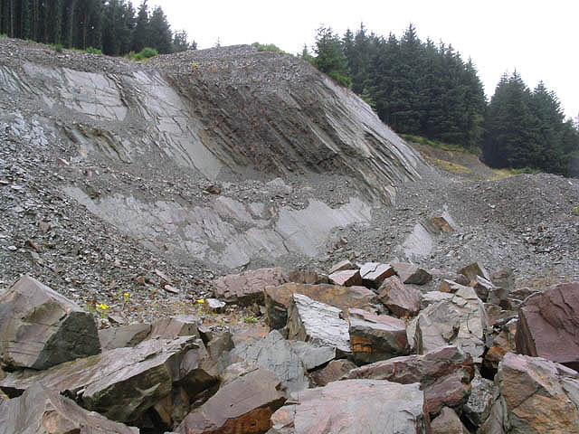 A quarry in Wauchope Forest