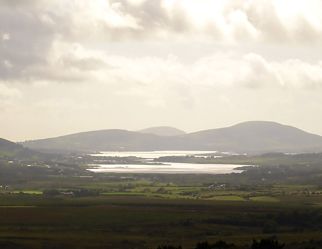 View towards Cahersiveen and Valentia Island