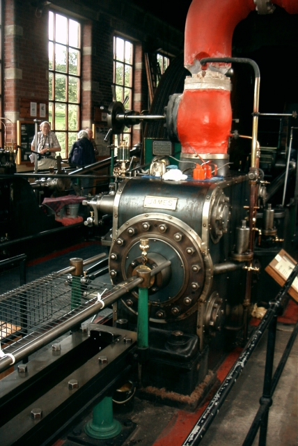 Barnoldswick Bancroft Shed Engine