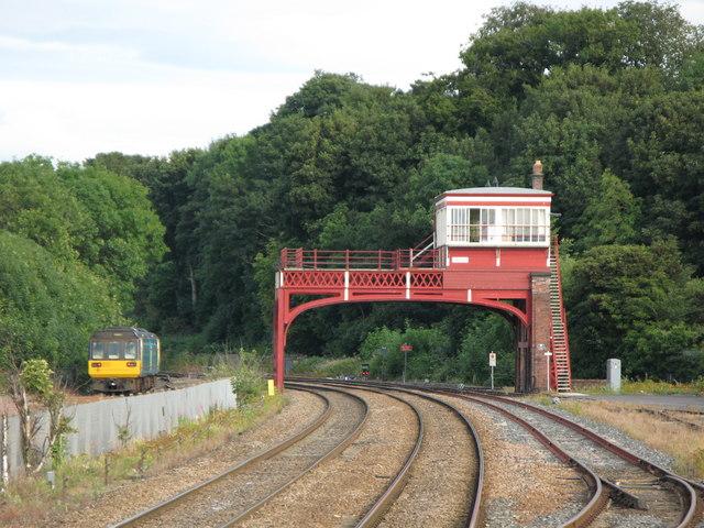 Signal Box, Hexham