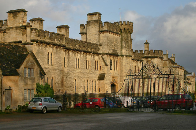 Cirencester Park Gates And Cecily Hill Barracks
