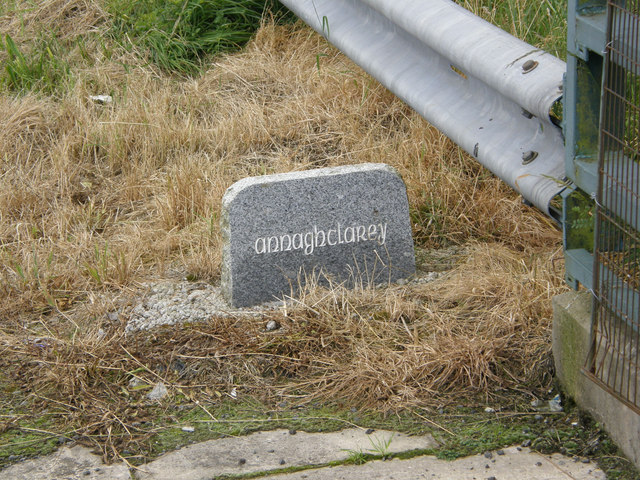 Townland marker.