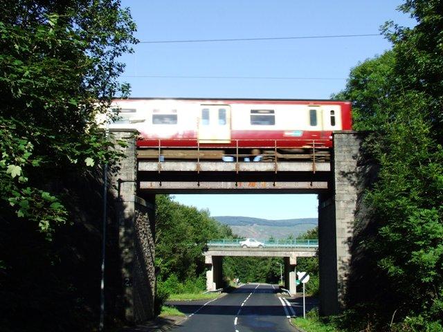 Brueacre Junction bridges
