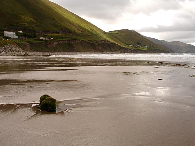 Looking along the coast towards Knockatinna