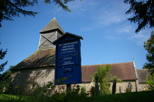 St Leonard's church, Yarpole