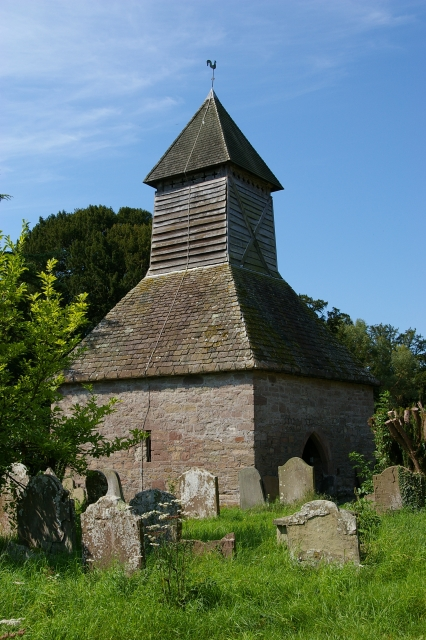 Yarpole church bell tower