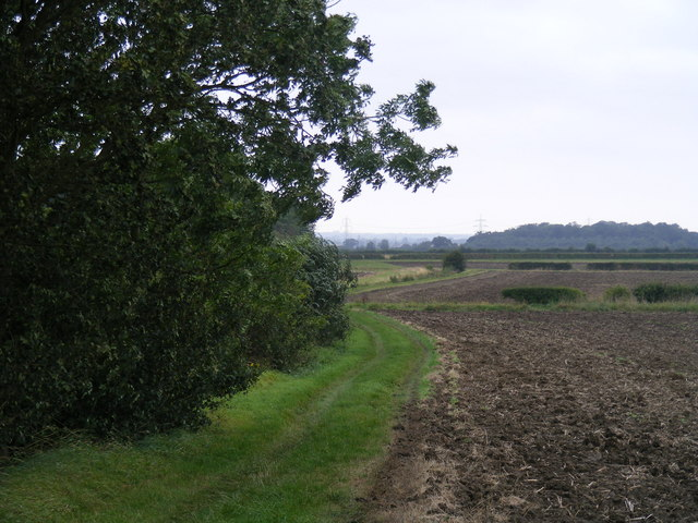 Footpath from Tetworth to Cold Arbour