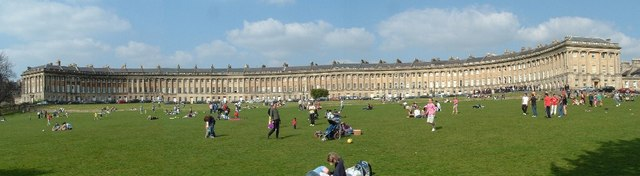 Royal Crescent (Stitched)