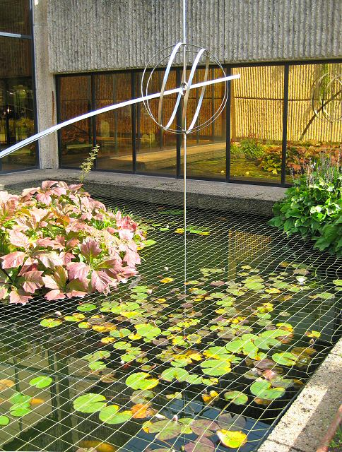 Ornamental fish pond lis burke cc by sa 2 0 geograph for Decorative pond fish
