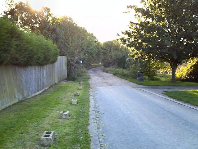 Biggin Lane from Ramsey