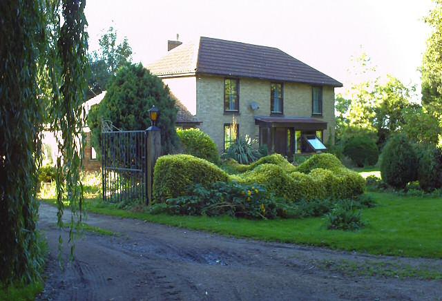 House from bridleway