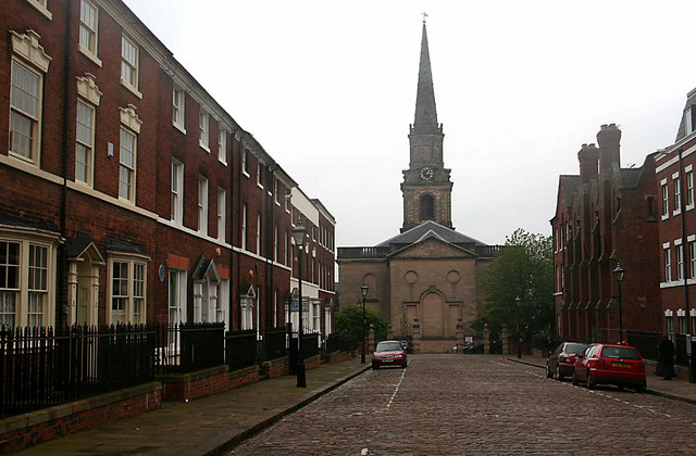 St Johns Church George St Shenk And Trish