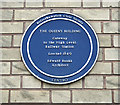 Photo of The Queen's Building  blue plaque