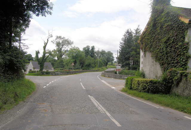 Crossroads on the Tassagh Road with the Dundrum Road