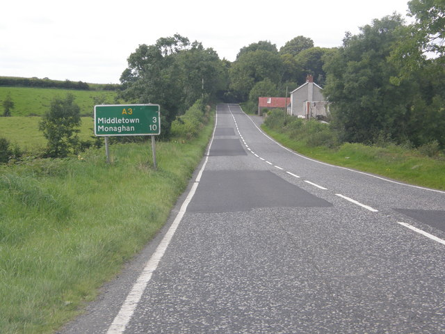 Armagh to Monaghan Road (A3)