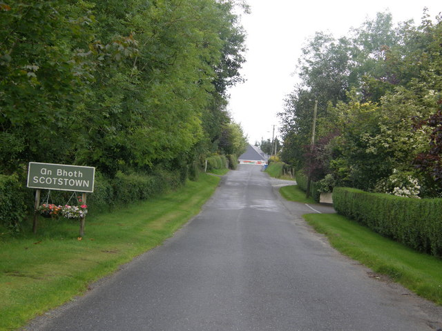 Entering Scotstown