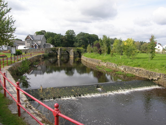 River Blackwater at Ballanode