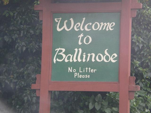 Entering Ballinode