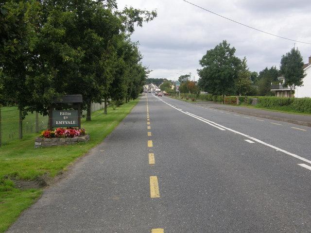 Entering Emyvale