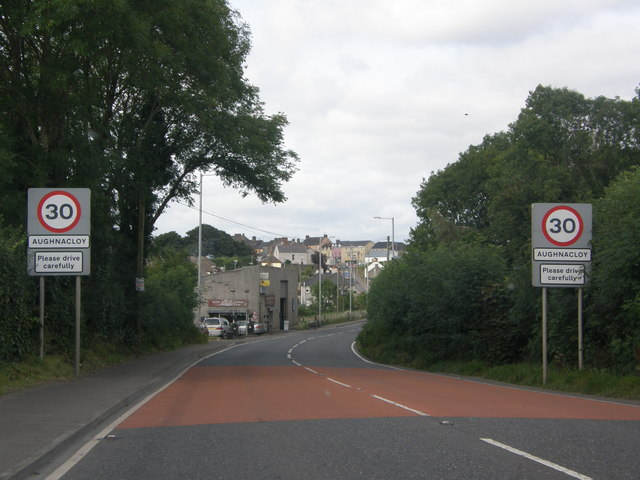 Entering Aughnacloy