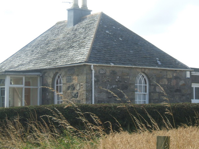 Cottage with Arched Windows...