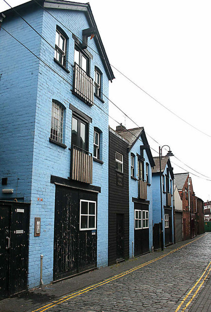 Old Warehouses , Princess Alley , Wolverhampton
