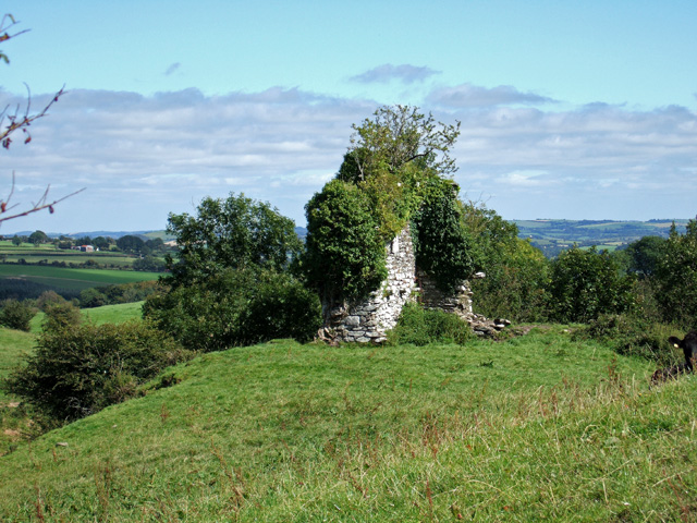 Castle ruins near Macroom