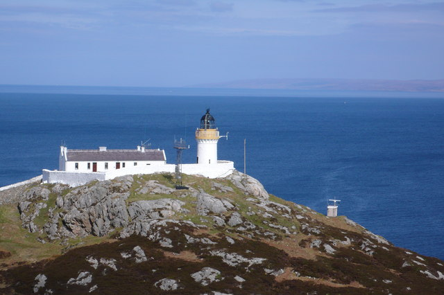 Lighthouse on Rona