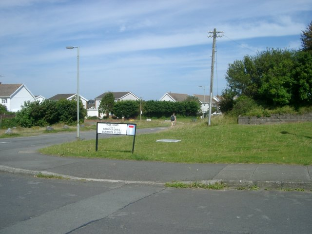 Corner of Park Road & Pennard Road