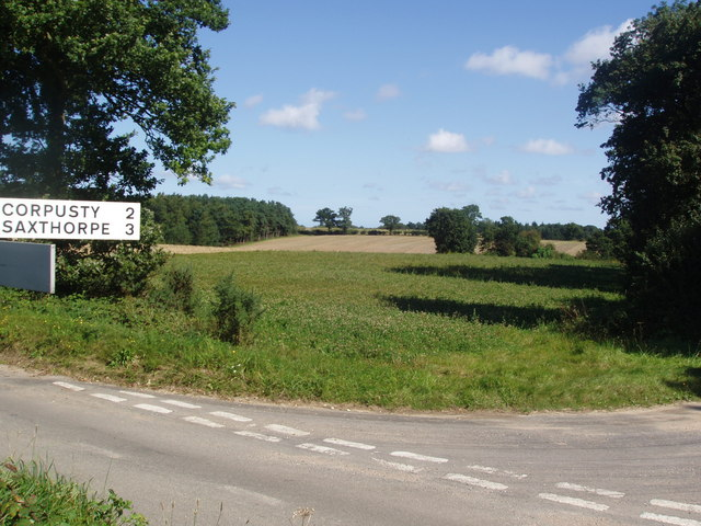 Road to Corpusty