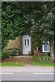 TL4676 : Front door, St George's Farm, Haddenham by Ben Harris