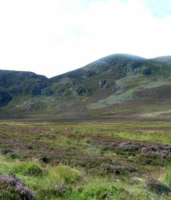 SW towards Carn an Daimh