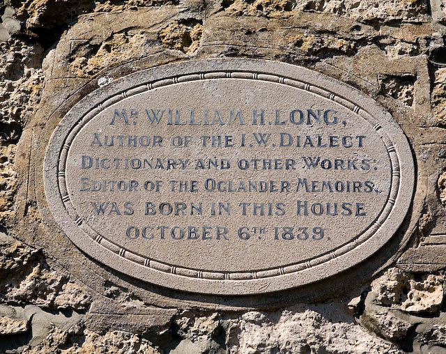 Plaque on Grants Cottage, Calbourne