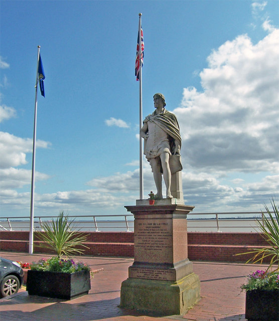 Statue of Sir William-de-la-Pole