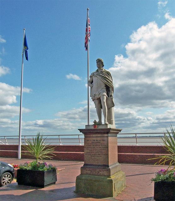 Statue of Sir William-de-la-Pole
