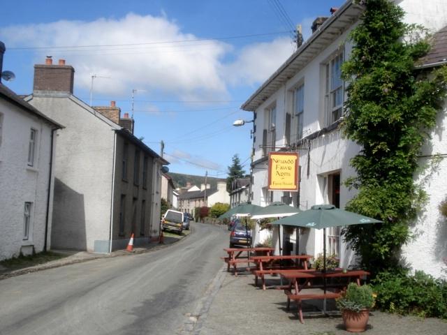 Cilycwm village