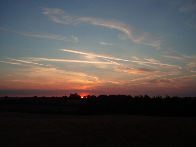 Sunset from Banbury Lane