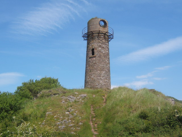Old lighthouse, Hodbarrow